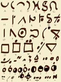 Eiflan Alphabet