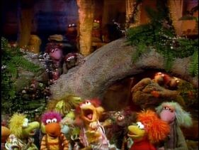 Mr. Conductor Visits Fraggle Rock Episode 95 The Honk of Honks
