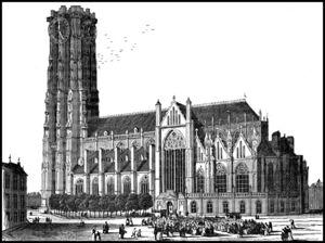 Sint-Romboutskathedraal Ets