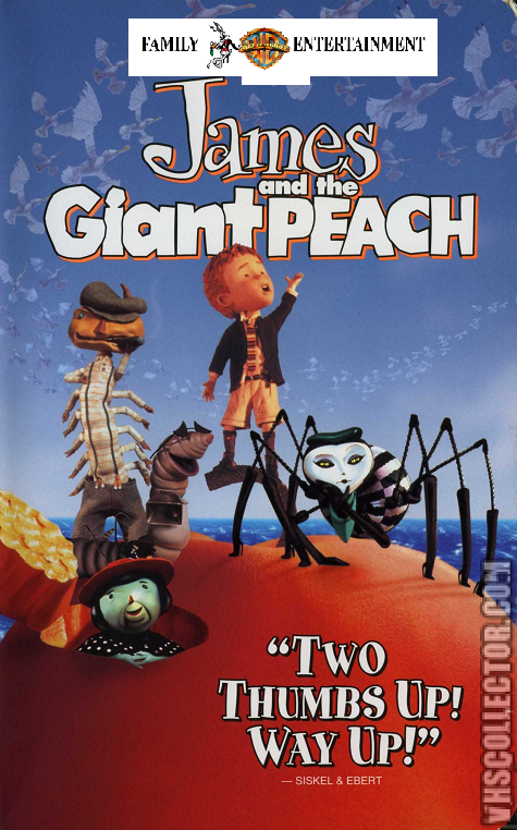 Opening To James And The Giant Peach  Vhs Warner Bros Family Entertainment Version Fake