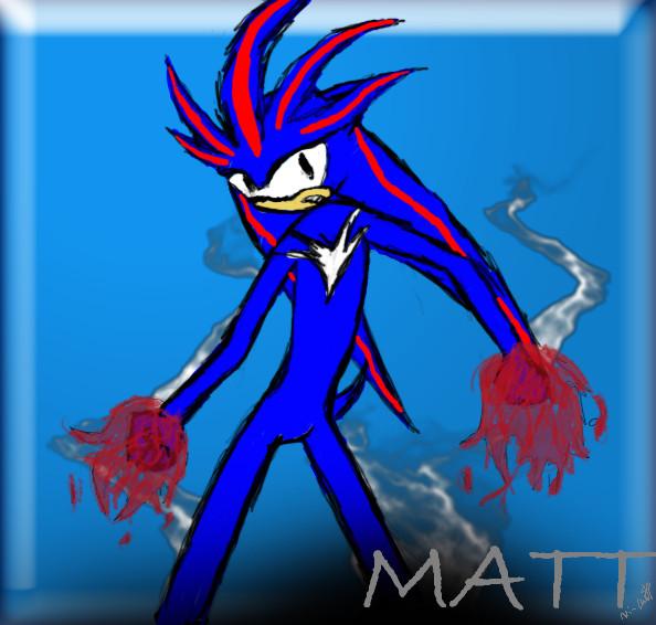 A blah doodle of Matt