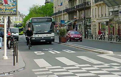 Pavimento bus-bici