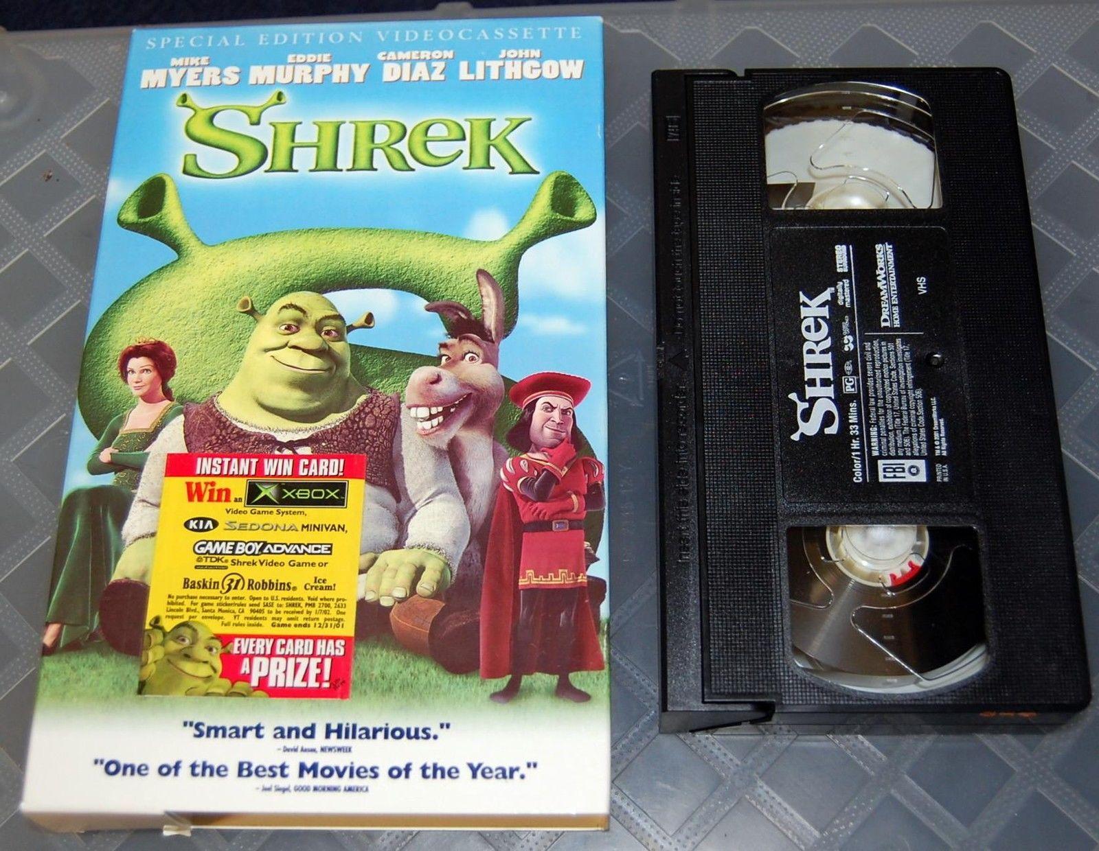 Opening To Shrek 2001 VHS - YouTube