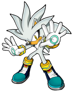 silver the hedgehog  Silver the Hedgehog (character)