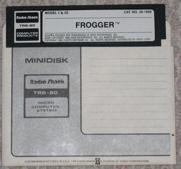 26-1959 frogger diskette