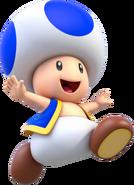 Toad Artwork - Super Mario 3D World