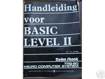 26-9405 Handleiding voor BASIC LEVEL II