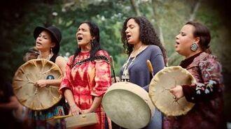 Ulali - Mahk Jchi (Heartbeat Drum Song) - with lyrics & translation