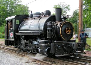 Berkshire Scenic Railway - Steam on the Housatonic Flyer Lehigh Valley Coal -126 (lehigh valley coal company -126 sadie)