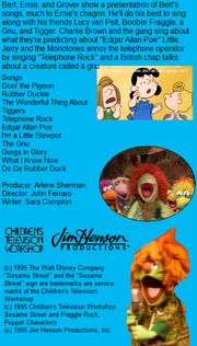 Disney Sing Along Songs Doin The Pigeon Scratchpad