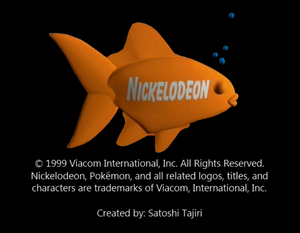 Nickelodeon Logo From Seaside Pikachu