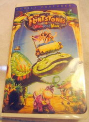 The flintstones in viva rock vegas vhs