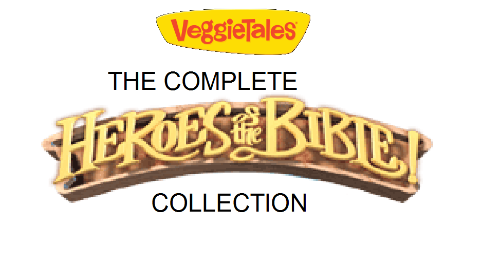 Veggietales The Complete Heroes Of The Bible Collection