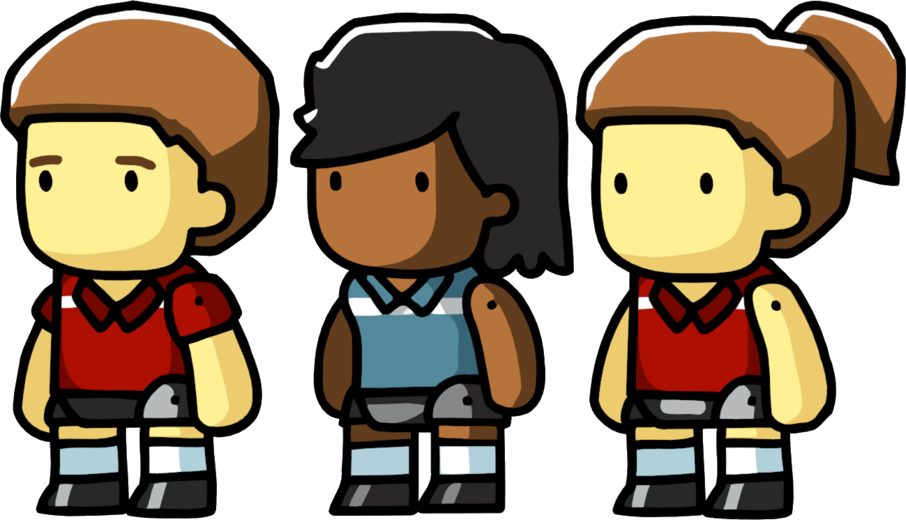 Image Volleyball Players Png Scribblenauts Wiki