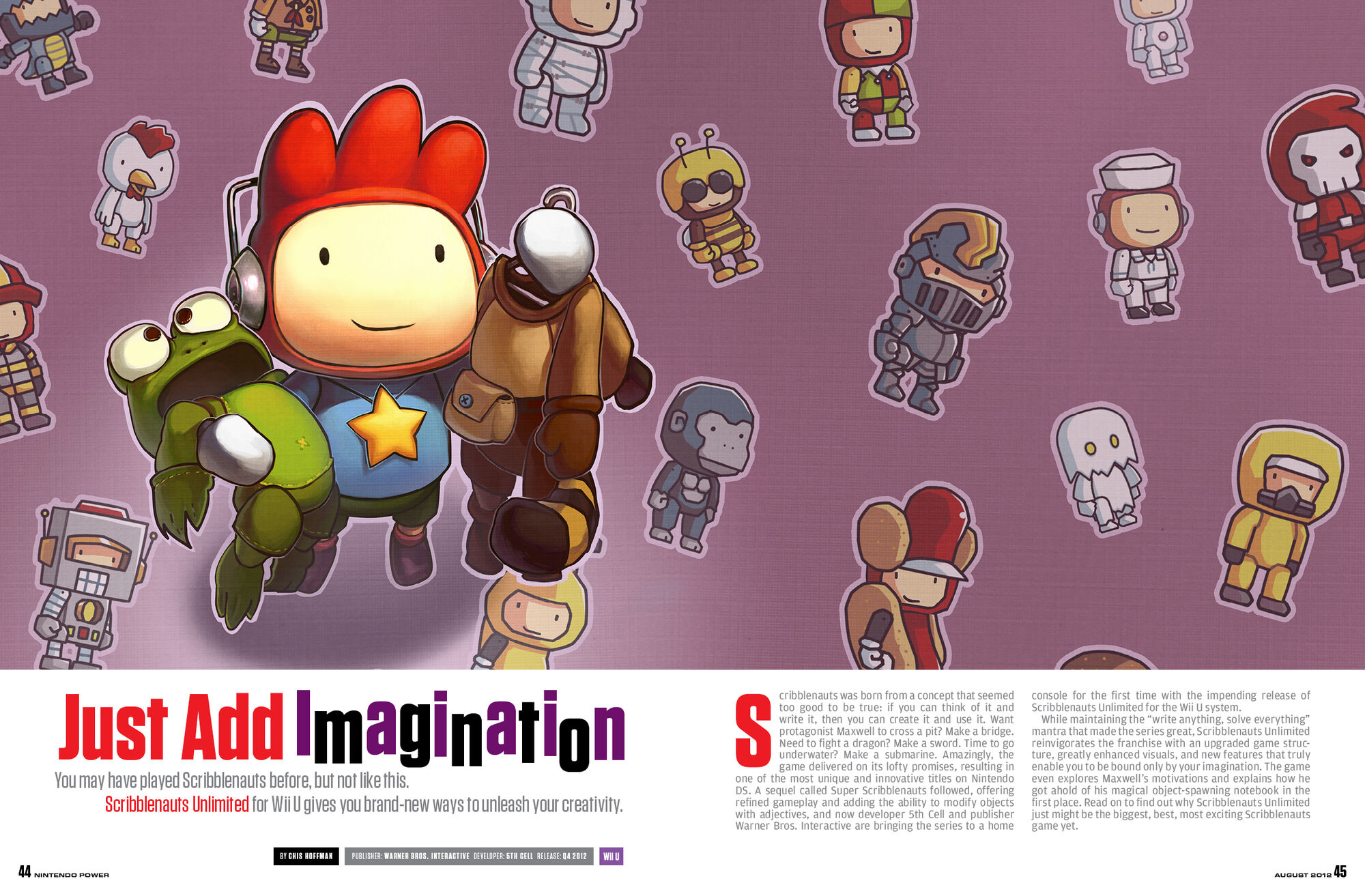 Scribblenauts Unmasked Features 14 Different Supermen