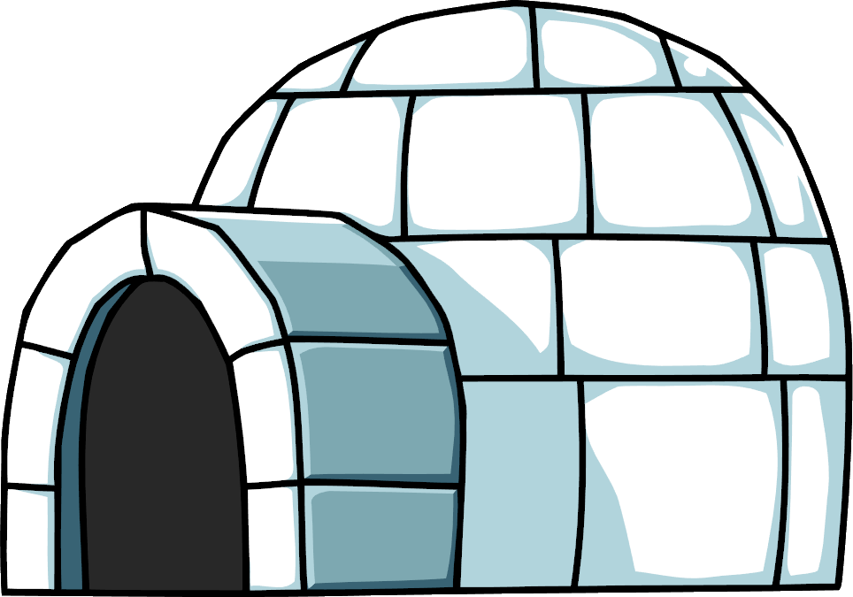 igloo coloring pages high resolution - photo#21