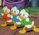 Huey, Dewey, and Louie Duck