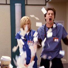 J.D. breaks down when Elliot gets the job