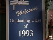3x8 Welcome Graduating class of 1993