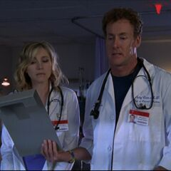 Dr. Cox and Elliot talk about if to start Thrombolytics on a patient but this time its reversed with Dr. Cox having