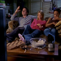 J.D., Danni, and Carla watch <i><a href=