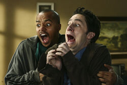 5x8 J.D. and Turk screaming