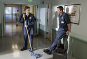 7x4 JD works as a Janitor