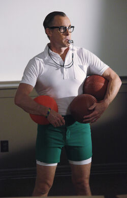 9x3 Cox as gym teacher