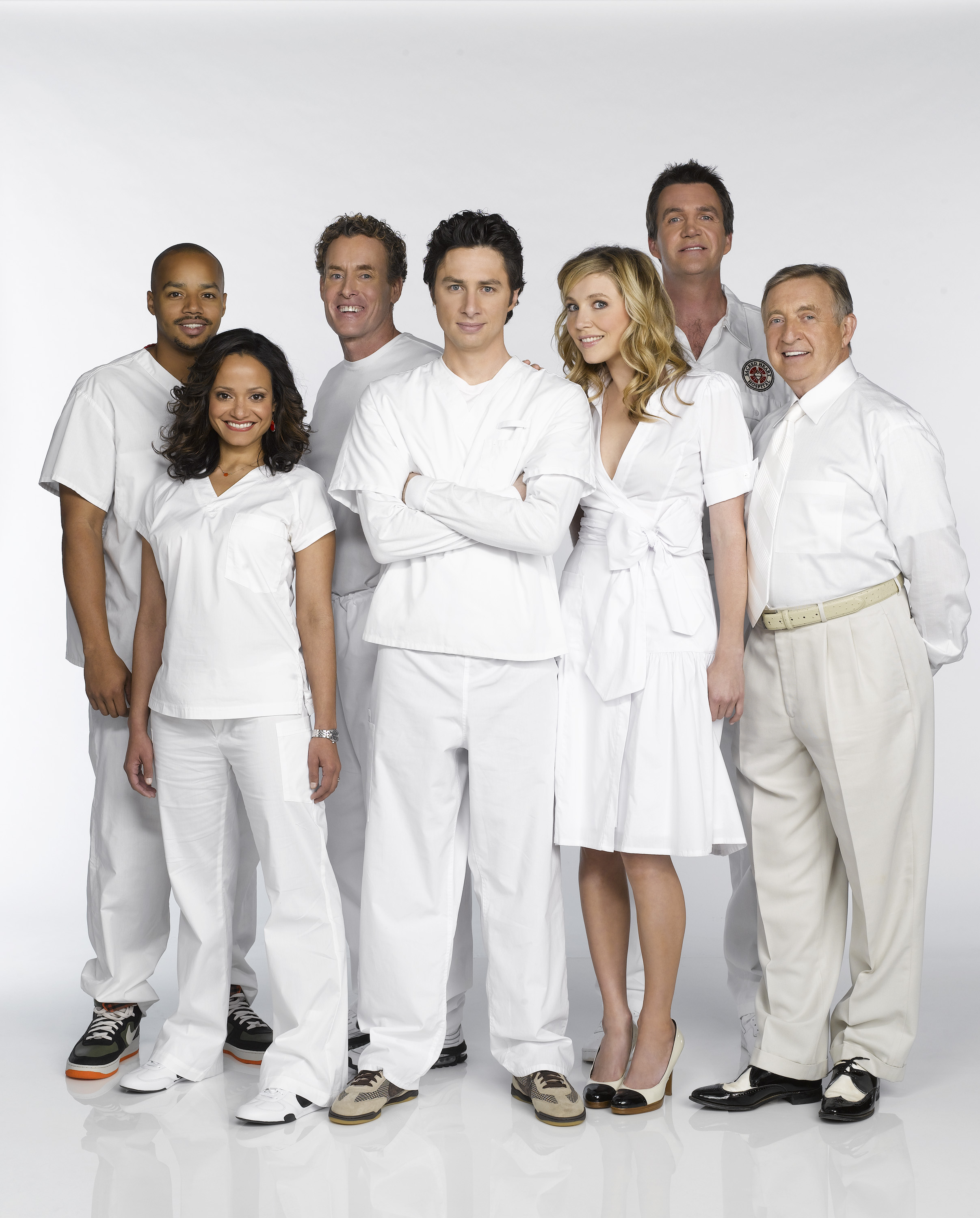 Scrubs images Scrubs Cast Season 1 & 8 wallpaper and background ...
