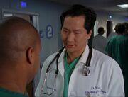 5x17-Dr. Wen confronts Turk