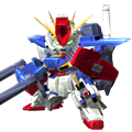 Unit as enhanced zz gundam