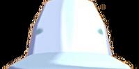White explorer hat