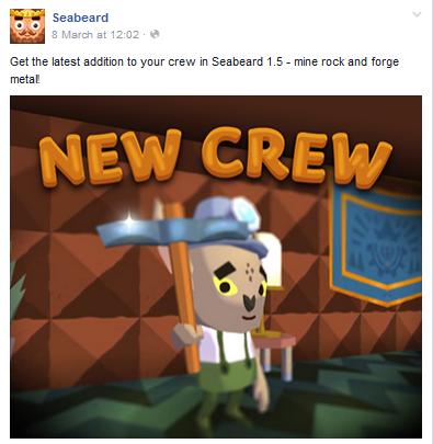 File:FBMessageSeabeard-Update1.5PreviewNewCrewMemberCanMineRocksAndForgeMetal.png