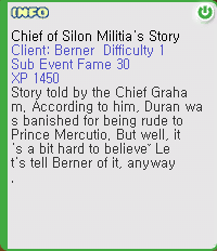 Chief of Silon Militia's Story