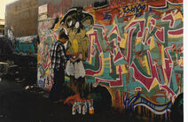 Seattle Cap Hill graffiti 1993 - 02
