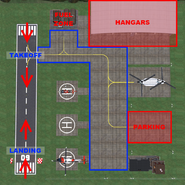Zimmer Airfield Detailed Map