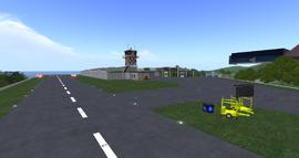 Slapdoogle Regional Airport, looking SW (01-14)