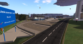 Aleksandr Route 8 Entrance, looking NE (01-15)