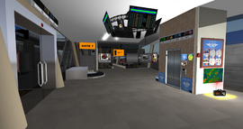 New Horizons Airport terminal interior (10-14)