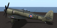 Hawker Sea Fury (Skunkette)