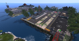 Seychelles Isles Airport, looking NE (02-15)