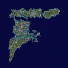 Gaeta Corsica Nautilus Satori and USS and Blake Sea Islands MAP