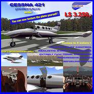 Cessna 421 (EG Aircraft) Promo