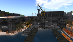 SLPG Docks, looking west (02-13)