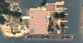 Bull Harbor Airfield 1