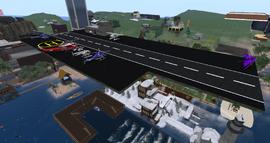 Burdeyna Islands Airfield, looking SE (01-15)