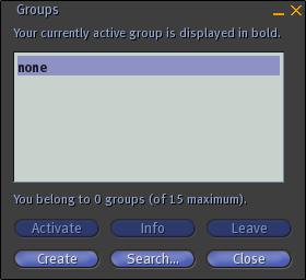 Groups-window