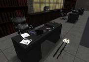 Gaffar's desk in SHC