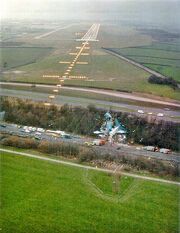 Kegworth Air Crash Scene
