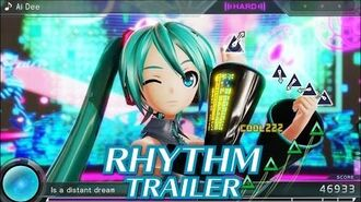 Feel the Rhythm in Hatsune Miku Project DIVA X